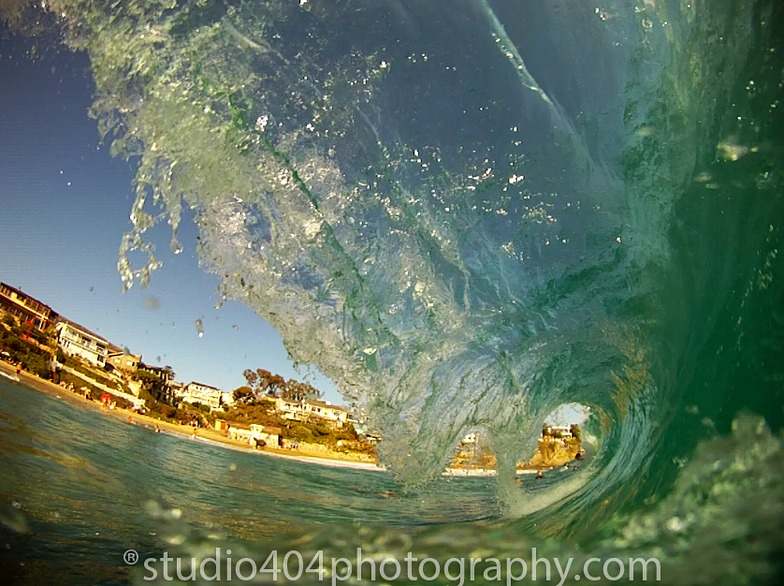 Tube time, Laguna Beach - South Crescent Bay