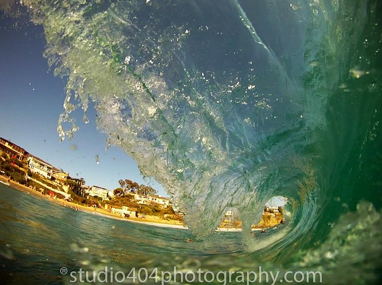 Tube time, Laguna Beach - South Crescent Bay