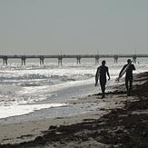 Two Surfers, Dania South Beach