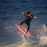 Nice surfing, The Wedge