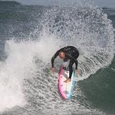 David Capi Garcia Escuela Cantabra de Surf, Playa de Somo