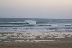 Waves in Bakio ( Vizcaya) photo