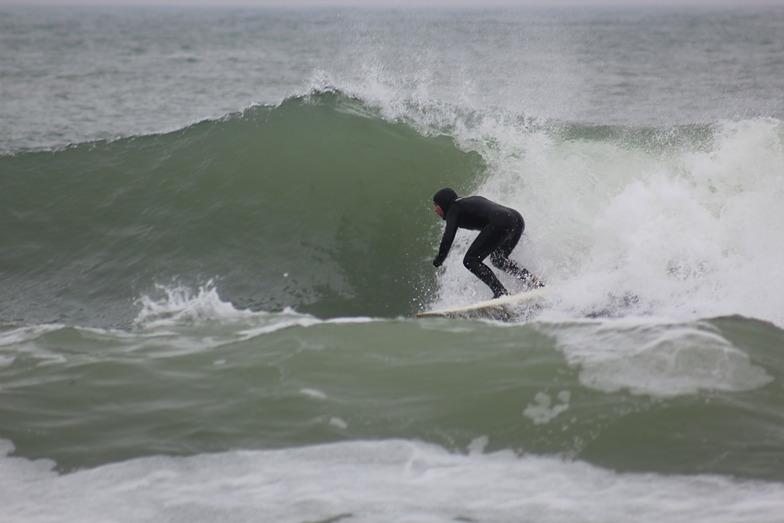 Winter Surfing in Adkadia, Arcadia