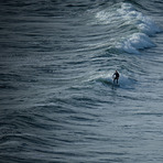 Rhossili, high tide