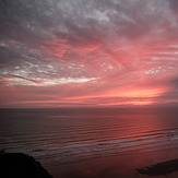 Summer Solstice Sunset, Rhossili