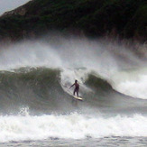 BWB in a typhoon, 2008, Big Wave Bay