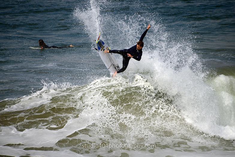 Name this surf photographer!, Huntington Beach