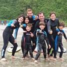 Buenísima tarde de surf, Playa de Cadavedo