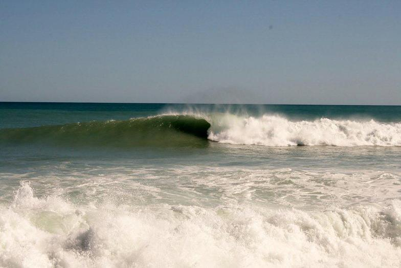 Double overhead. No one out,, Schnappers Point