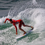 Filipe Toledo , CHAMPION OF US OPEN OF SURFING, 2016, Huntington Pier