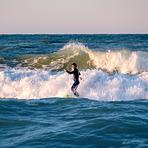 SUP at Spiaggia di Ponente, Italy, Fano Lido (Spiaggia di Ponente)