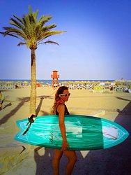 Kat en Carihuela, Playa la Carihuela photo