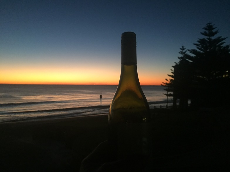 Normal sunset at cot, Cottesloe Beach