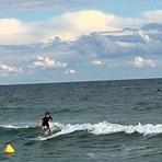 Esperando olas, Montgat