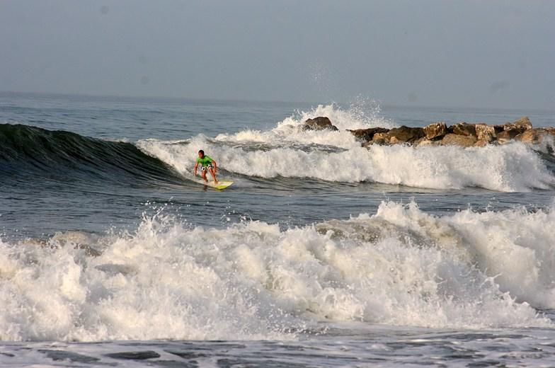 disfrutando de un buen dia, Puerto Cabopino
