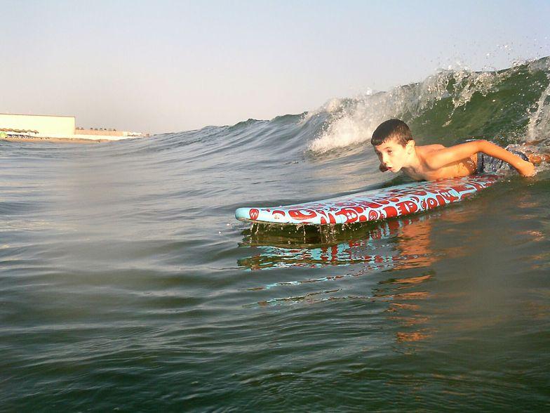 Hugo started, Puerto Cabopino