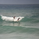 MARE ABAJO LOS POCITOS  (AEROPUERTO) SURFER: EL CURA Y KALANI
