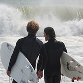 Lucas Rosa and Samuel, Deveraux Beach