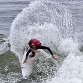 Surfing the Slot, Steamer Lane-The Slot