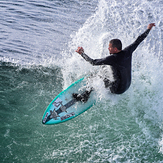 Flea at the Slot, Steamer Lane-The Slot