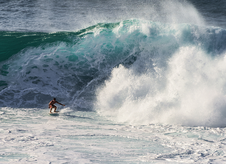 Big Wave at Honolua Bay