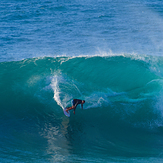 Out of the pipe, Honolua Bay