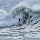 Surfing Middle Peak, Steamer Lane-Middle Peak