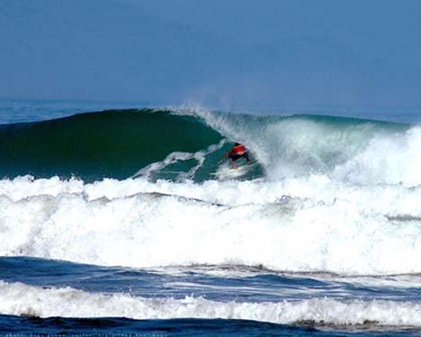 Lanuza Surfing Festival, Lanuza Rivermouth