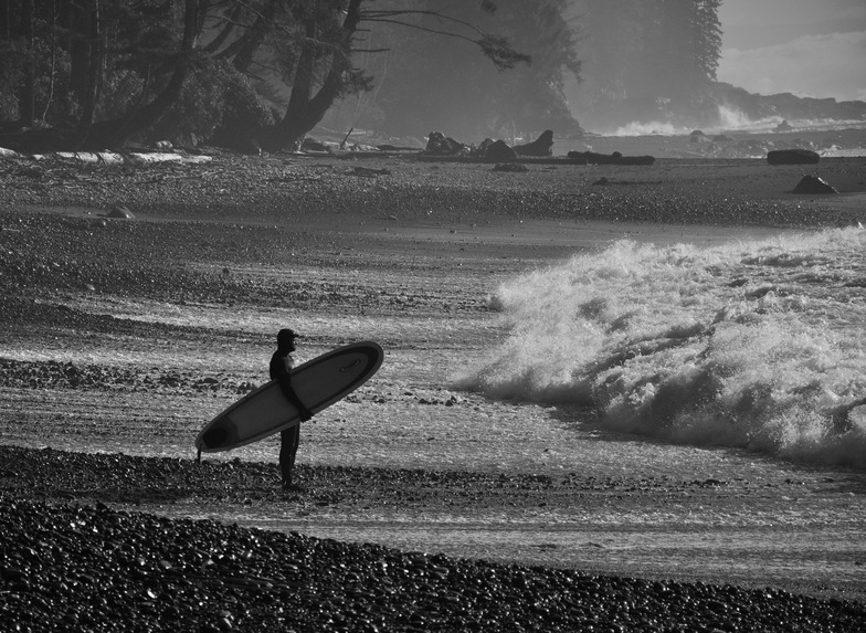 Pic i took of a surfer: