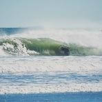 barreled near the beach, The Wall