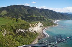 Oaro after the Kaikoura Earthquake photo