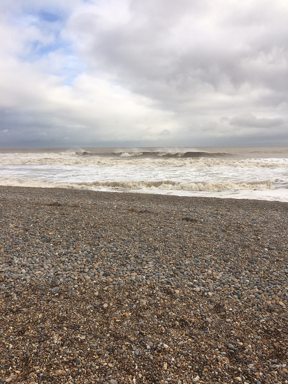 November surf, Walberswick