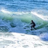 Surfing the Slot, Steamer Lane-The Slot