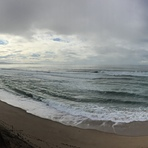 Weather is constantly changing here in the bay, Marina State Beach