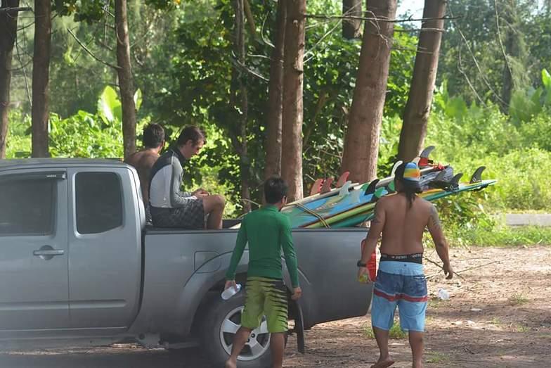 Pakarang Crew, Cape Pakarang Reefs
