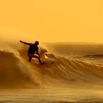 Sunrise Surfer, Alkantstrand