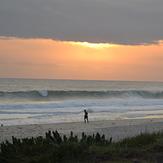 End of the day in Praia da Vila - Saquarema, Itauna