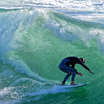 Wave Worship, Steamer Lane-Middle Peak