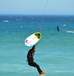 kitesurf, Bloubergstrand photo