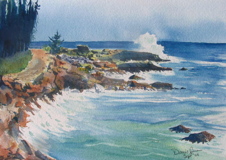 Surf at Broad Cove