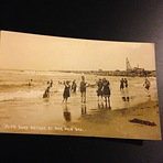 Surf Bathing At BarView Ore, Barview Jetty