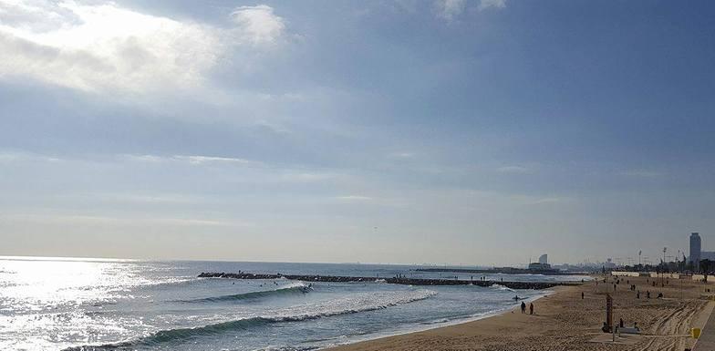 Playa Mar Bella, BCN enero 2017, Nova Mar Bella