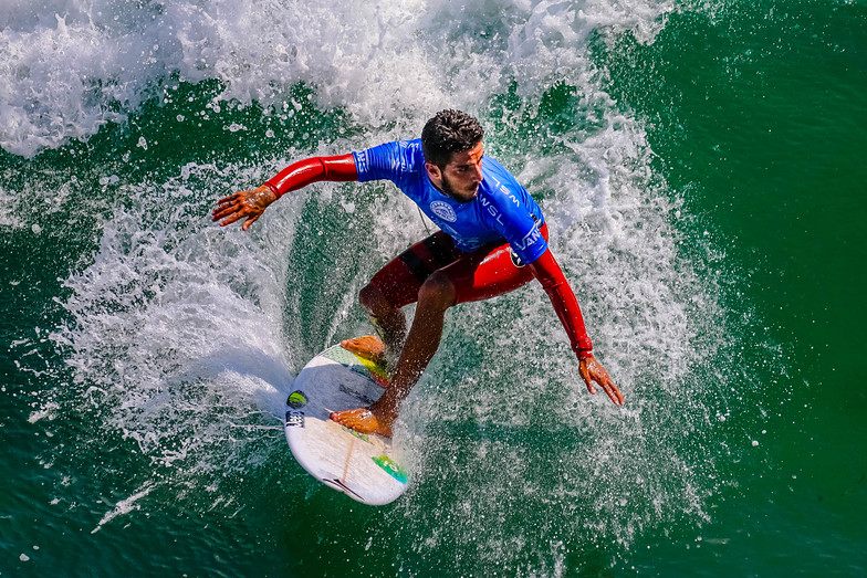 Champion of USA Surfing , 2016, Huntington Beach