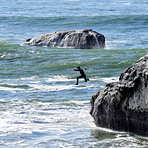 The Point at Steamer Lane, Steamer Lane-The Point