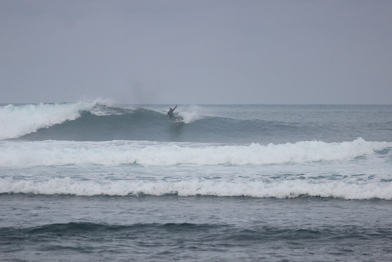 grey day-fun waves, Lidos Left
