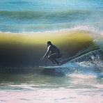 Morning swell, Cardiel (Mar del Plata)