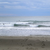 Gianluca in a good swell, waiting for Elma