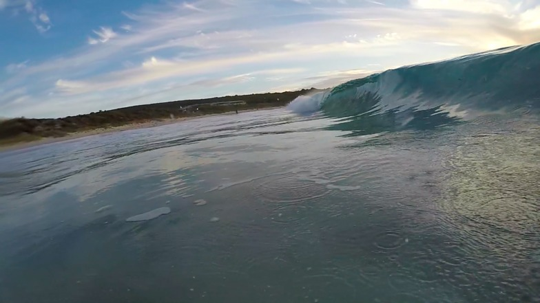 glass, Yallingup Beach