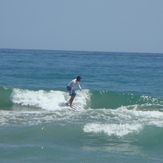 pelua, Steamer Lane-Middle Peak