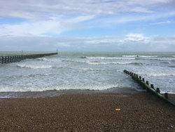 Spring surf, Littlehampton photo